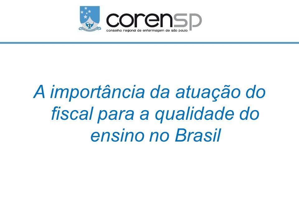 A importância da atuação do fiscal para a qualidade do ensino no Brasil