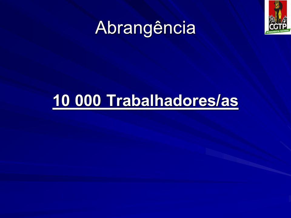 Abrangência 10 000 Trabalhadores/as