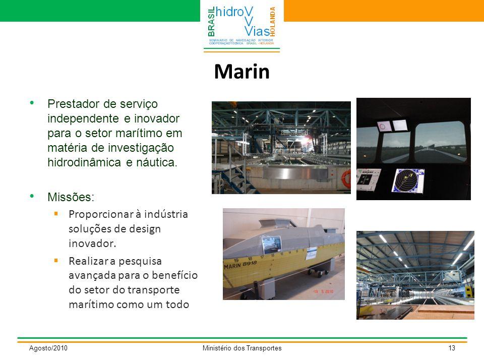 Marin Prestador de serviço independente e inovador para o setor marítimo em matéria de investigação hidrodinâmica e náutica.