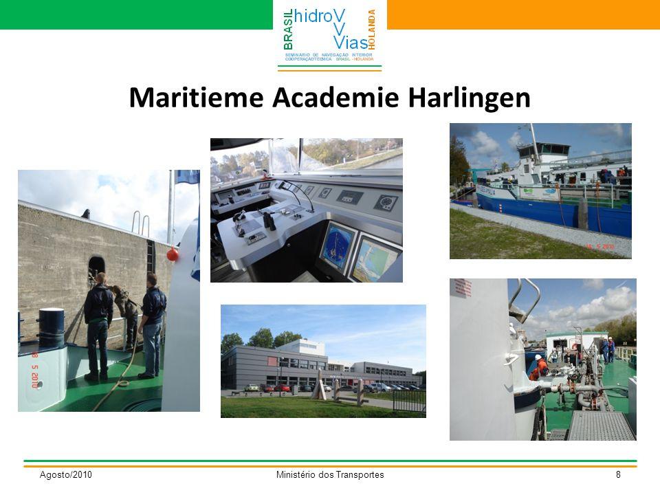 Maritieme Academie Harlingen Agosto/2010Ministério dos Transportes8