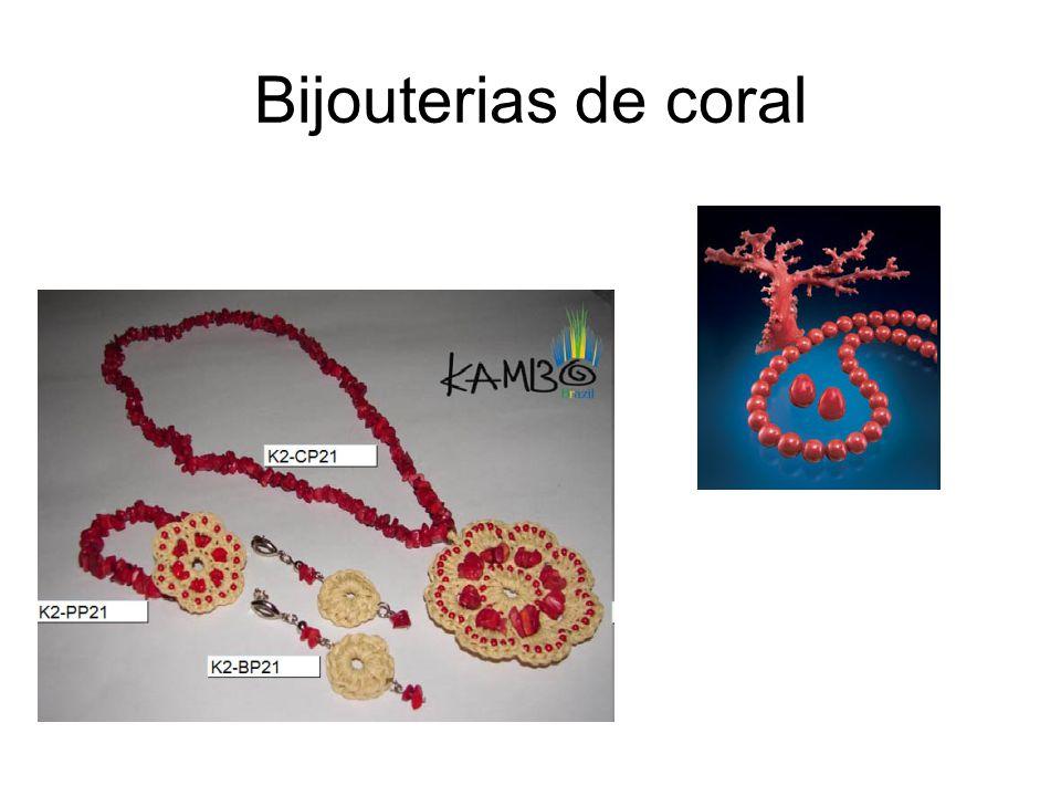 Bijouterias de coral