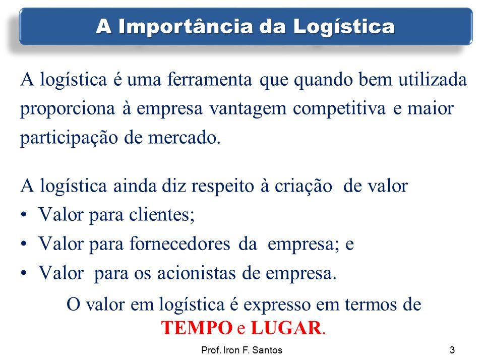 A logística é uma ferramenta que quando bem utilizada proporciona à empresa vantagem competitiva e maior participação de mercado. A logística ainda di