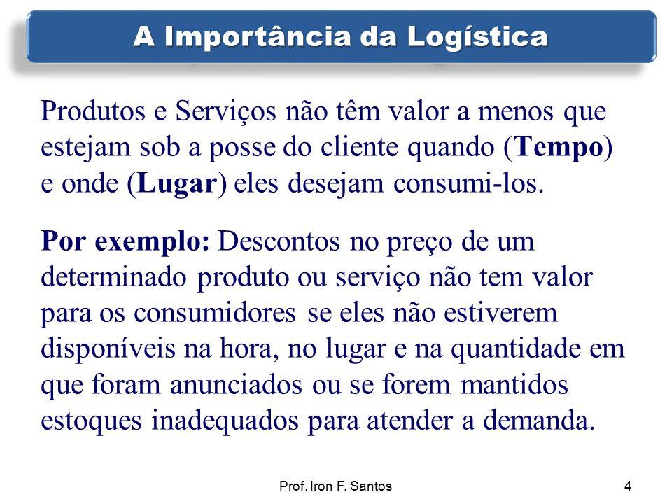 4 Produtos e Serviços não têm valor a menos que estejam sob a posse do cliente quando (Tempo) e onde (Lugar) eles desejam consumi-los. Por exemplo: De