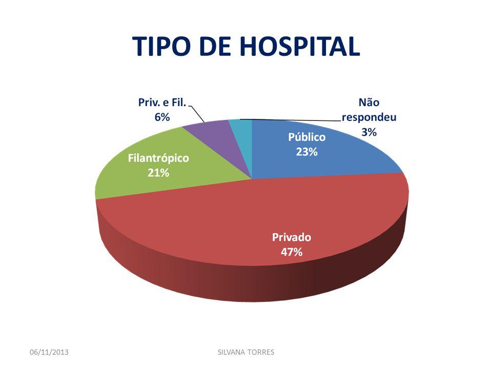 TIPO DE HOSPITAL 06/11/2013SILVANA TORRES