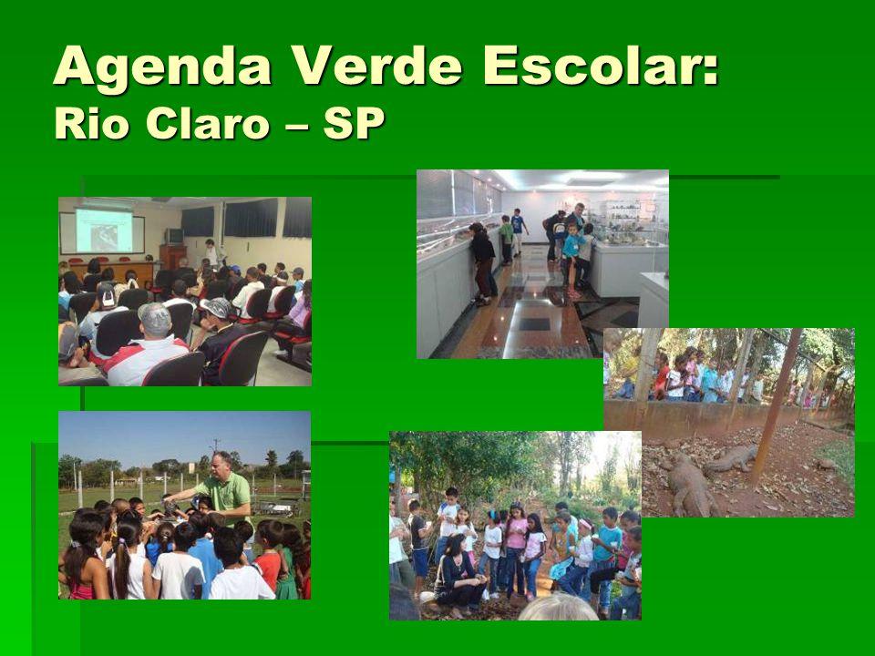 Agenda Verde Escolar: Rio Claro – SP