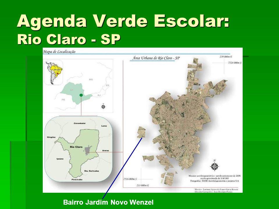 Agenda Verde Escolar: Rio Claro - SP Bairro Jardim Novo Wenzel
