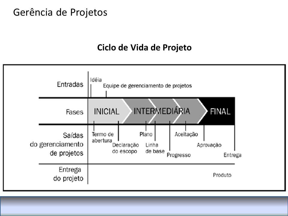 Ciclo de Vida de Projeto Gerência de Projetos