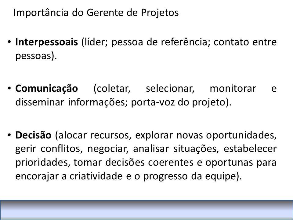 Interpessoais (líder; pessoa de referência; contato entre pessoas).