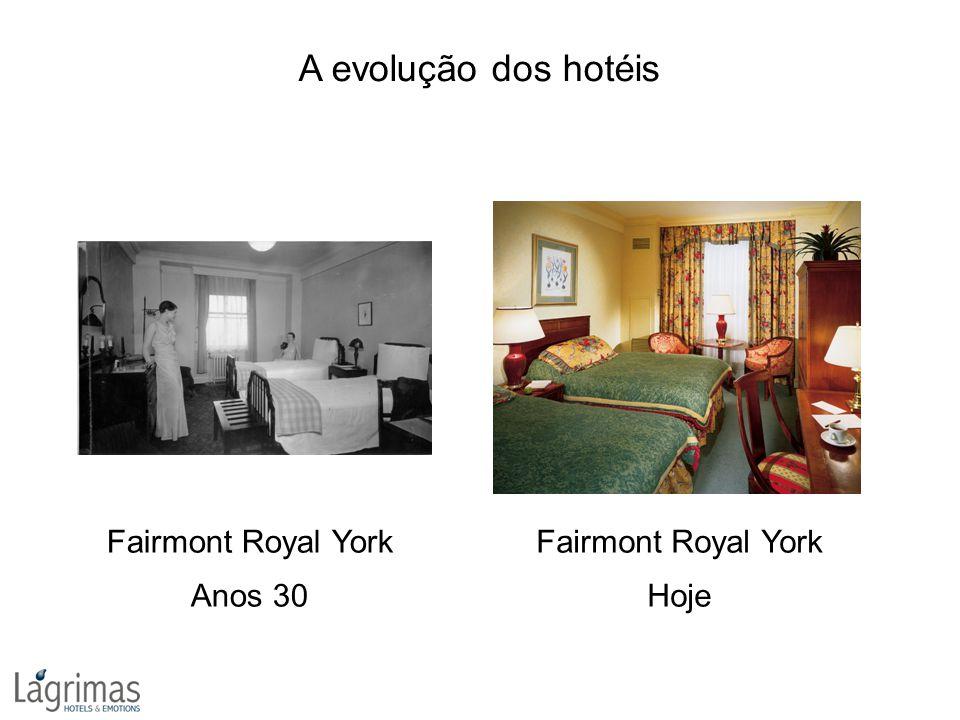 A evolução dos hotéis Fairmont Royal York Anos 30 Fairmont Royal York Hoje