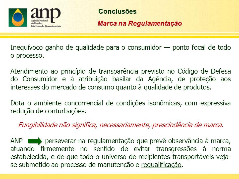 Inequívoco ganho de qualidade para o consumidor — ponto focal de todo o processo. Atendimento ao princípio de transparência previsto no Código de Defe