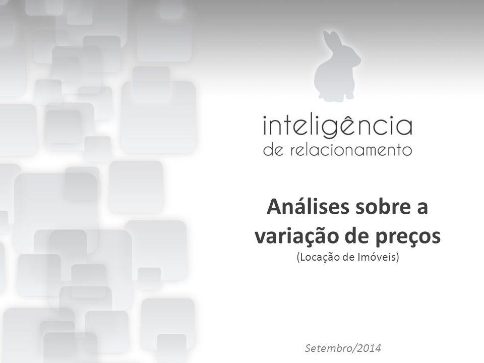 Importância das Redes Sociais para o marketing imobiliário Allan Fonseca Análises sobre a variação de preços (Locação de Imóveis) Setembro/2014