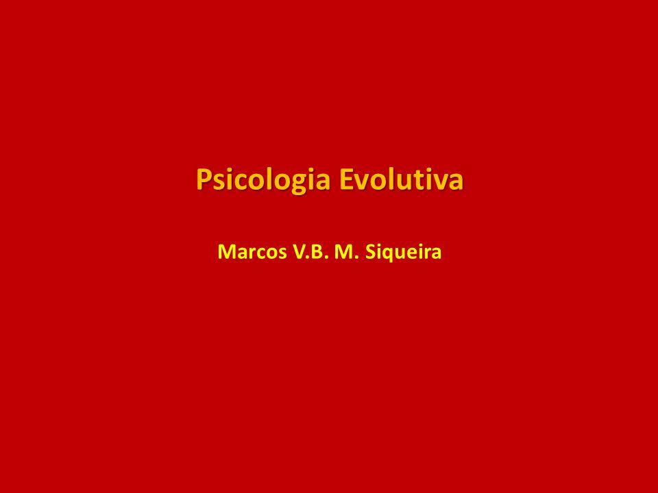 Psicologia Evolutiva Psicologia Evolutiva Marcos V.B. M. Siqueira