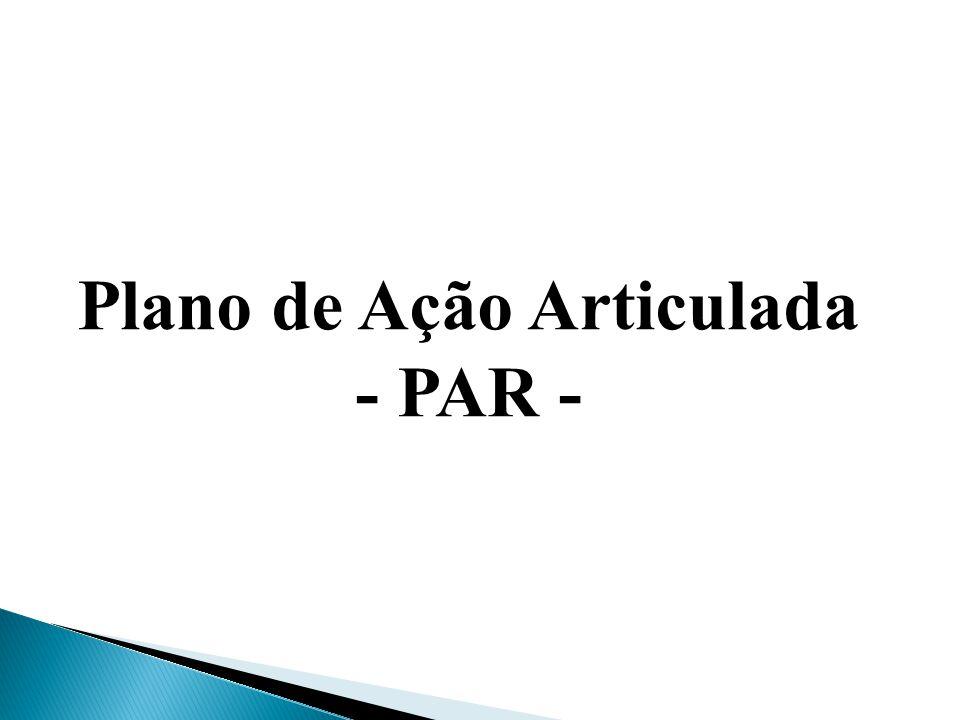 Plano de Ação Articulada - PAR -