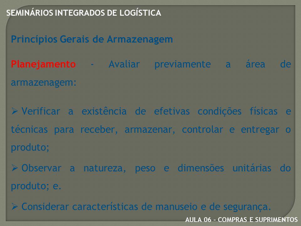 AULA 06 – COMPRAS E SUPRIMENTOS SEMINÁRIOS INTEGRADOS DE LOGÍSTICA Centros de Distribuição Avançados