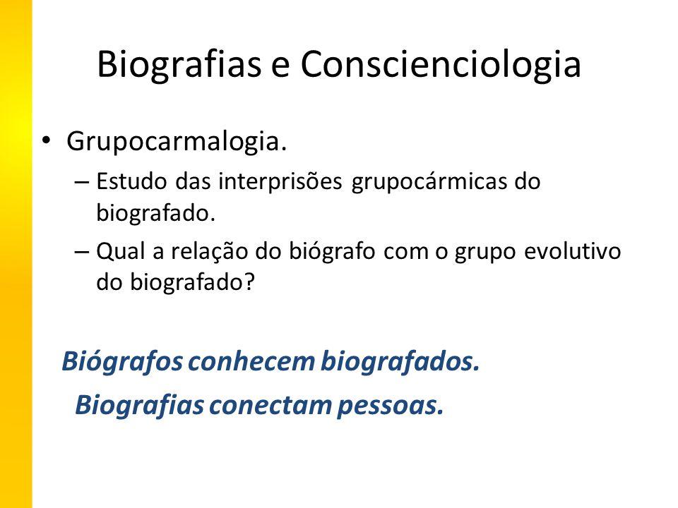 Biografias e Conscienciologia Grupocarmalogia.