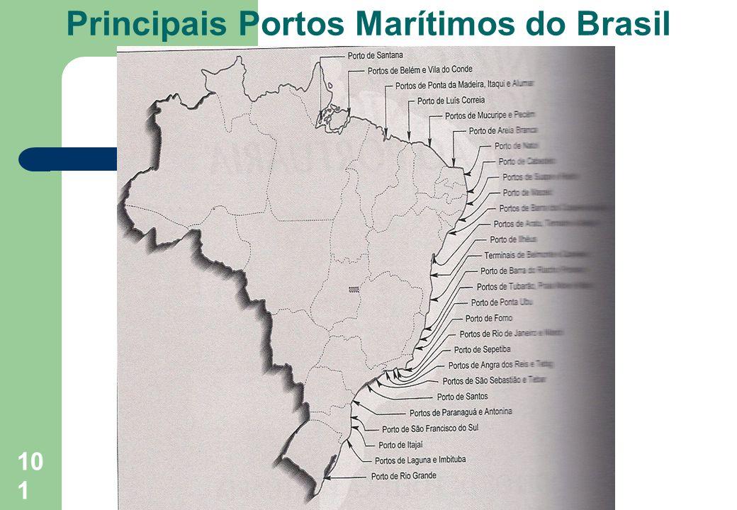 Principais Portos Marítimos do Brasil101