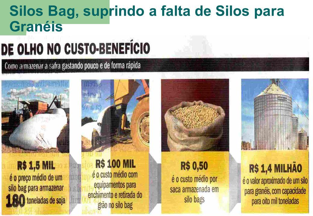 Silos Bag, suprindo a falta de Silos para Granéis 13