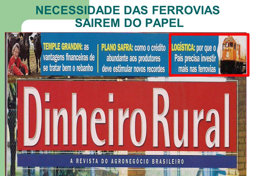 NECESSIDADE DAS FERROVIAS SAIREM DO PAPEL 33