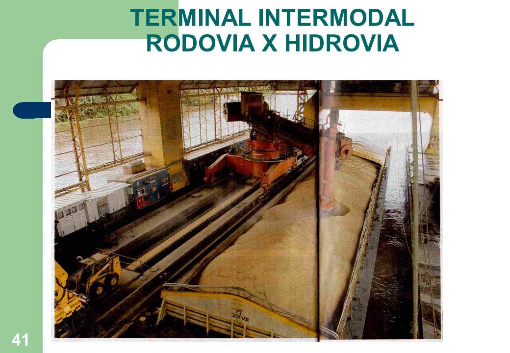 TERMINAL INTERMODAL RODOVIA X HIDROVIA 41