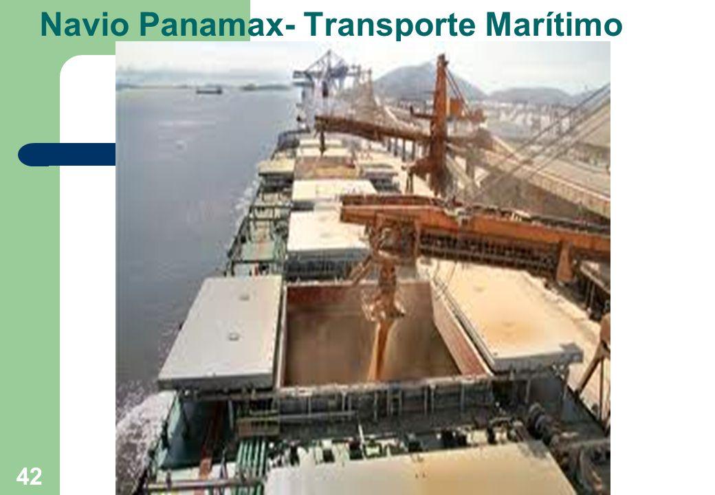 Navio Panamax- Transporte Marítimo 42