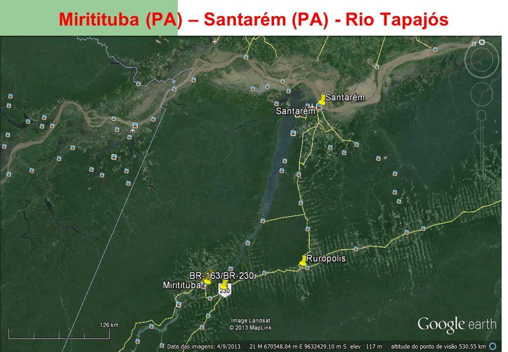 49 Miritituba (PA) – Santarém (PA) - Rio Tapajós