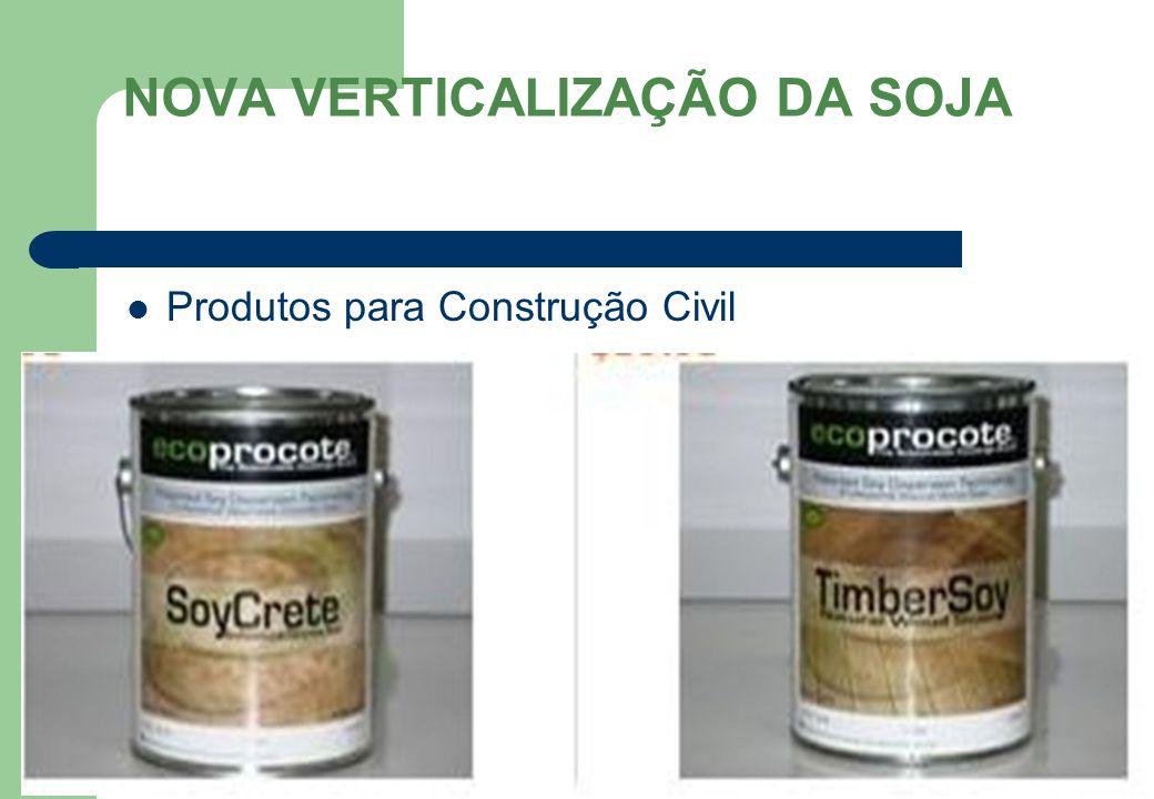 NOVA VERTICALIZAÇÃO DA SOJA Produtos para Construção Civil 71