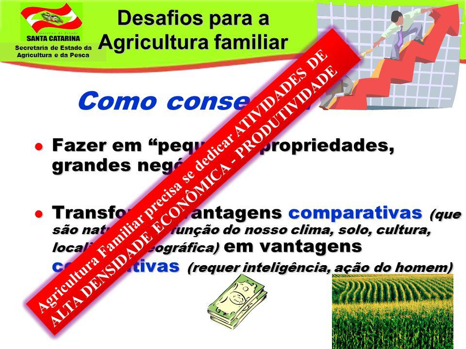 """Secretaria de Estado da Agricultura e da Pesca Desafios para a Agricultura familiar Desafios para a Agricultura familiar Como conseguir: l Fazer em """"p"""