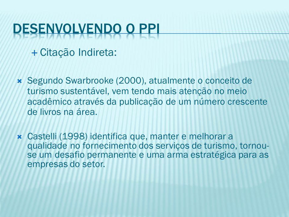  Citação Indireta:  Campos (1992) define qualidade relacionada à satisfação de quatro importantes grupos para a sobrevivência de uma organização: clientes, funcionários, acionistas e sociedade em geral.