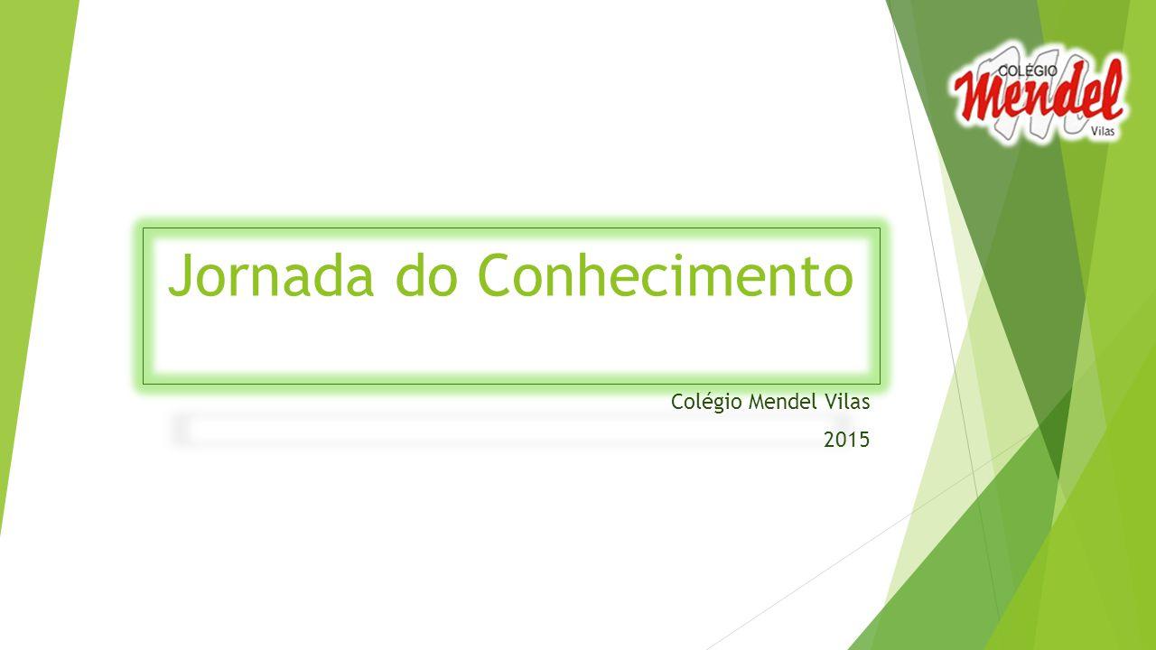 Jornada do Conhecimento Colégio Mendel Vilas 2015