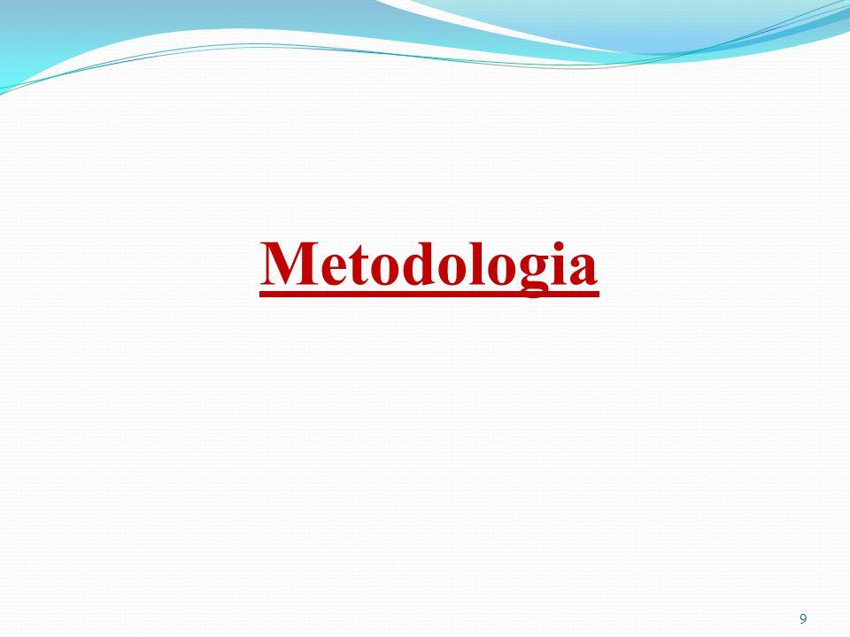 9 Metodologia
