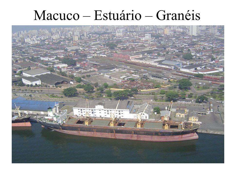 Macuco – Estuário – Granéis