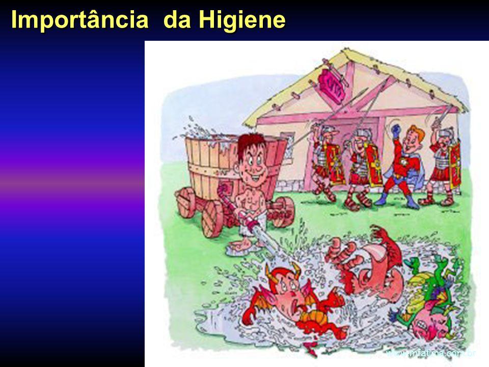 Importância da Higiene www.mfatima.com.br