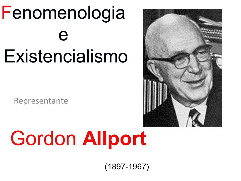 Representante Gordon Allport (1897-1967)