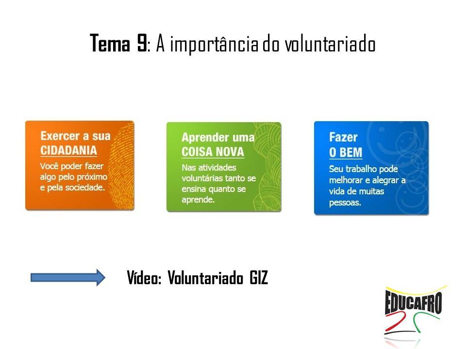 Vídeo: Voluntariado GIZ