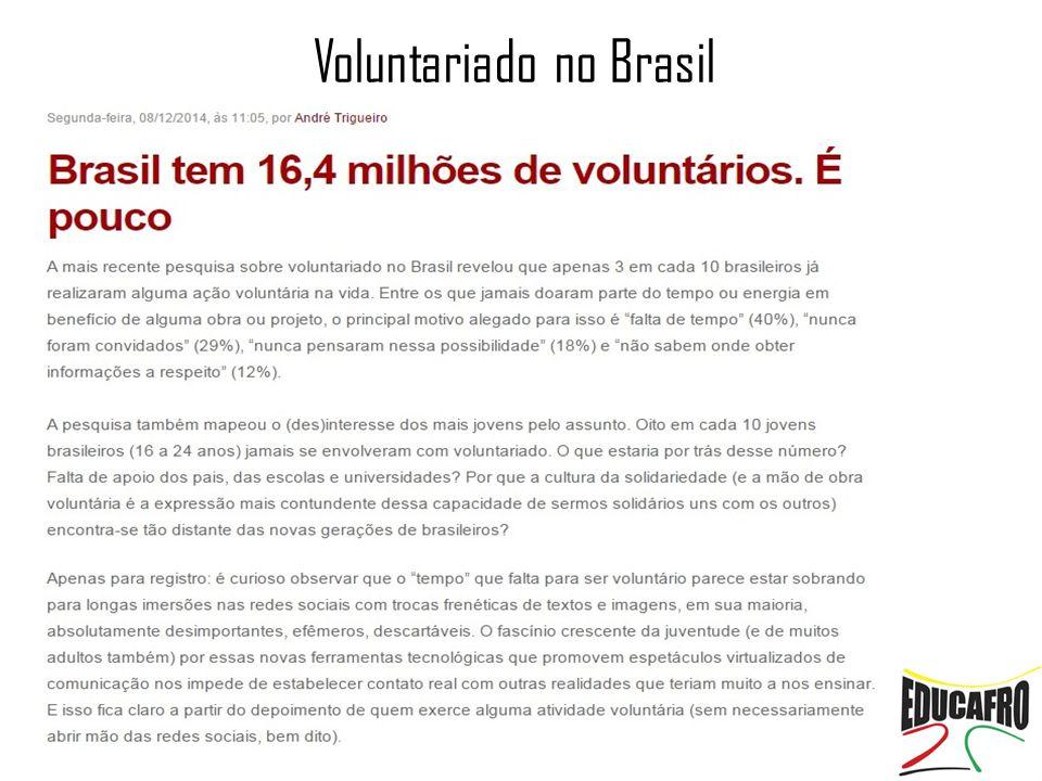 Voluntariado no Brasil
