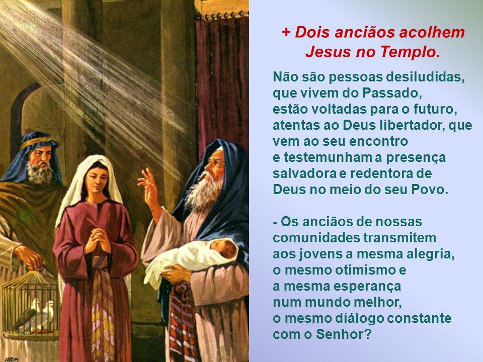 + Jesus é apresentado no Templo e consagrado ao Senhor. Em nossas famílias há a preocupação para a formação cristã dos filhos? Os pais procuram transm