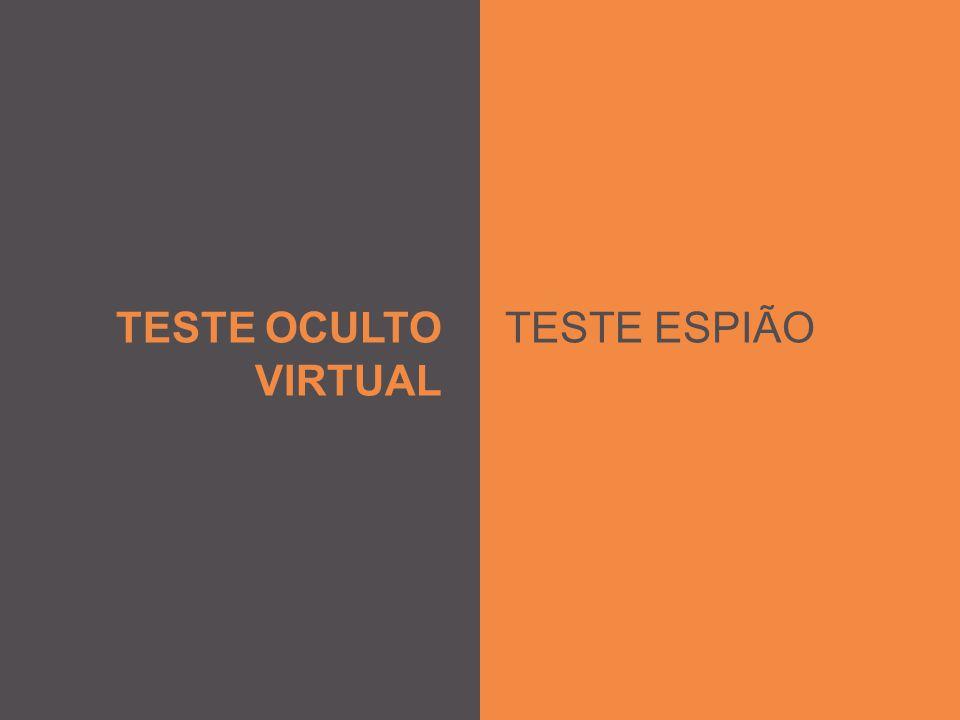 TESTE OCULTO VIRTUAL TESTE ESPIÃO