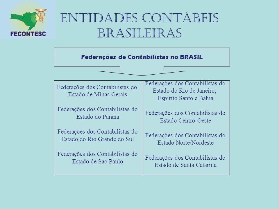 Entidades contábeis brasileiras Federações de Contabilistas no BRASIL Federações dos Contabilistas do Estado de Minas Gerais Federações dos Contabilis