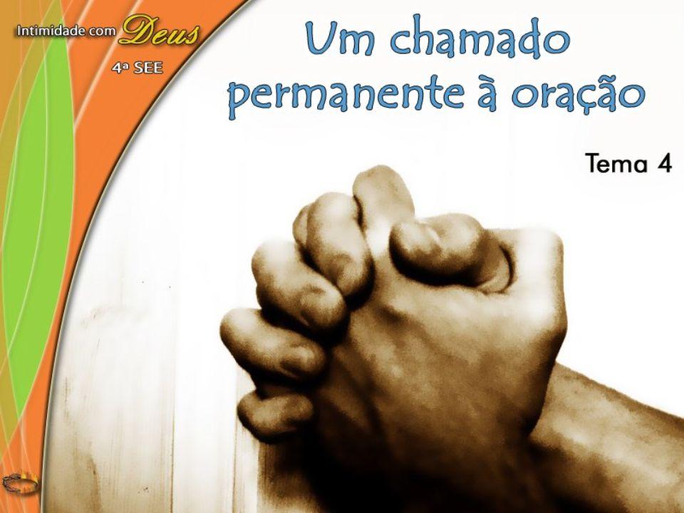 A oração é necessária, e não devemos esperar pelo sentimento, mas orar, orar fervorosamente, quer nos sintamos dispostos a fazê- lo, quer não (Ellen G.