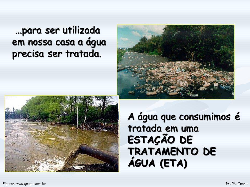 ...para ser utilizada em nossa casa a água precisa ser tratada....para ser utilizada em nossa casa a água precisa ser tratada. A água que consumimos é