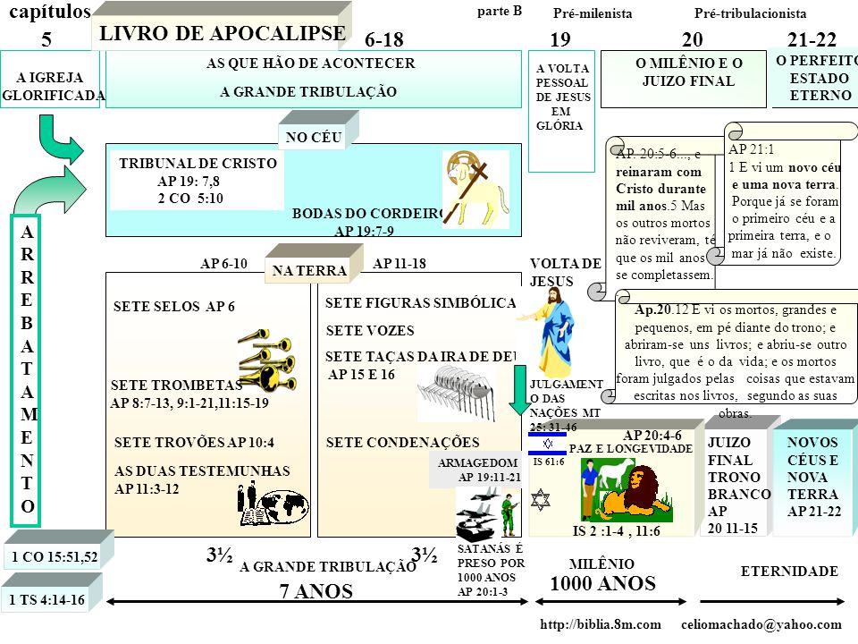 A IGREJA GLORIFICADA A GRANDE TRIBULAÇÃO A VOLTA PESSOAL DE JESUS EM GLÓRIA O MILÊNIO E O JUIZO FINAL O PERFEITO ESTADO ETERNO 56-18192021-22 LIVRO DE