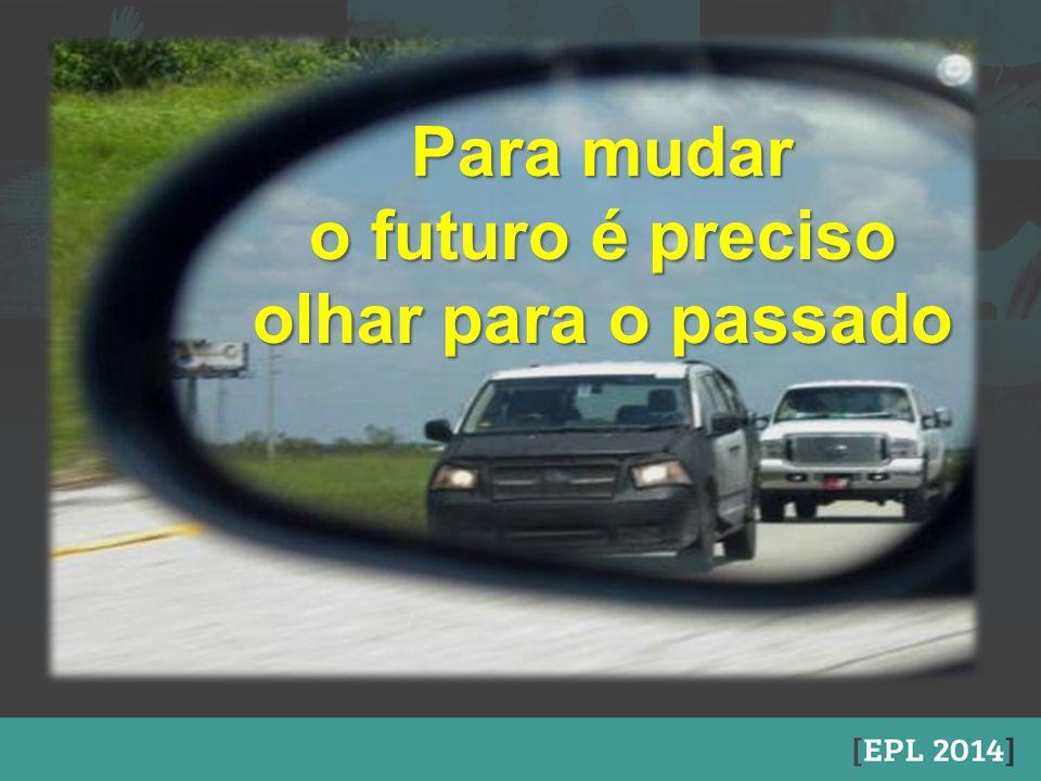 Para mudar o futuro é preciso olhar para o passado