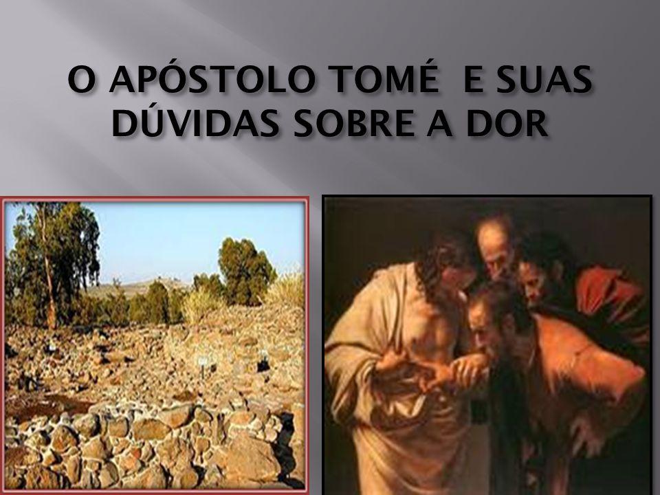 O APÓSTOLO TOMÉ E SUAS DÚVIDAS SOBRE A DOR