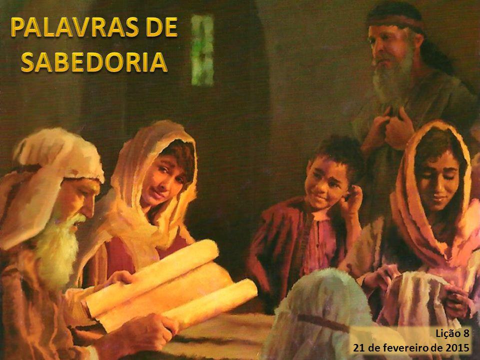 A igualdade dos homens (Provérbios 20:9, 12) O teste da vida (Provérbios 20:6) A espera em Deus (Provérbios 20:17, 20- 22; 21:5-6) A misericórdia (Provérbios 21:13; 22:16) A educação correta (Provérbios 22:6, 8, 15) As palavras de sabedoria contidas em Provérbios 20, 21 e 22:1-16 nos indicam os parâmetros que devem reger nossa vida cotidiana: