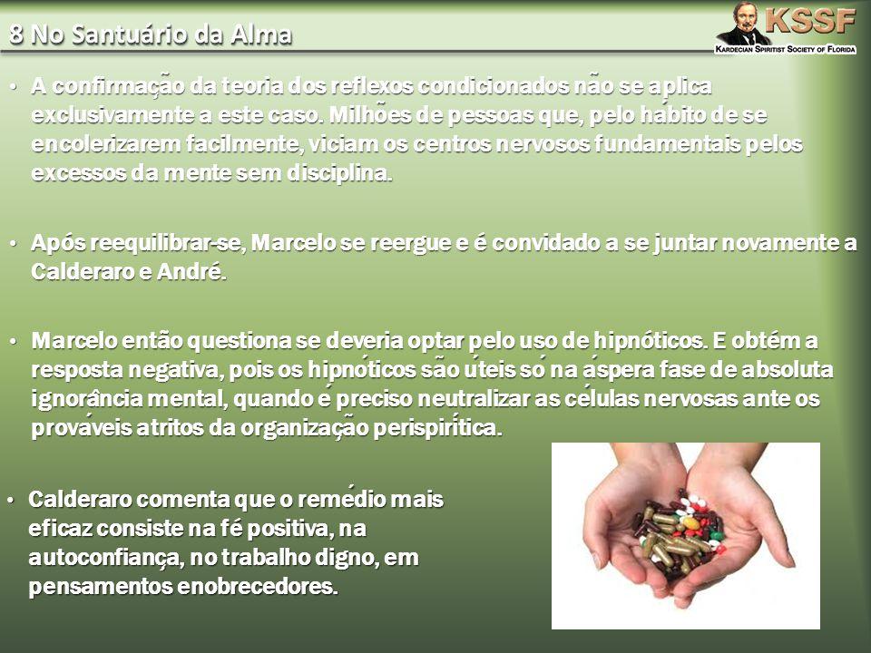 8 No Santuário da Alma A confirmac ̧ a ̃ o da teoria dos reflexos condicionados na ̃ o se aplica exclusivamente a este caso.