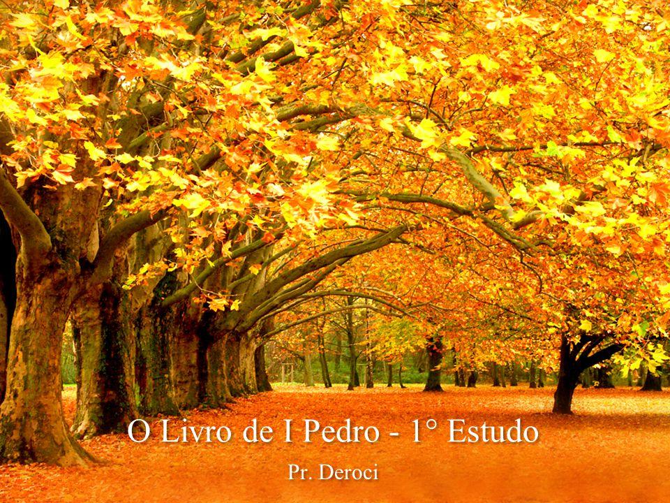 O Livro de I Pedro - 1° Estudo Pr. Deroci