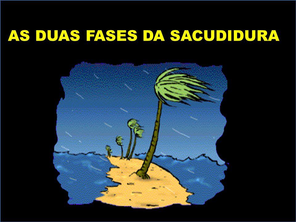 AS DUAS FASES DA SACUDIDURA AS DUAS FASES DA SACUDIDURA