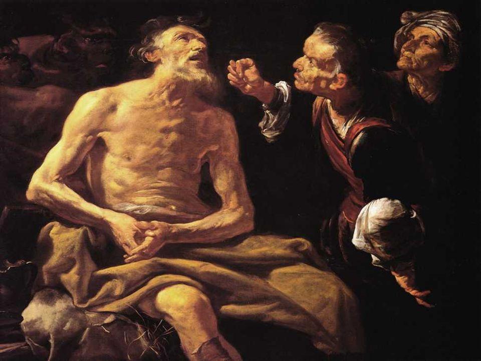 Na 1ª leitura, vemos a experiência do Sofrimento de Jó (Jó 7,1-4.6-7) Jó é um homem justo e fiel ao Senhor.