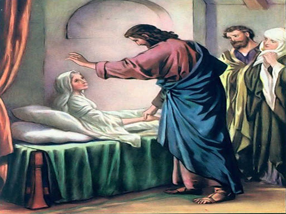 No Evangelho, vemos Jesus diante do sofrimento (Mc 1,29-39) O texto narra uma jornada messiânica de Jesus, no início de sua missão pública na Galiléia.