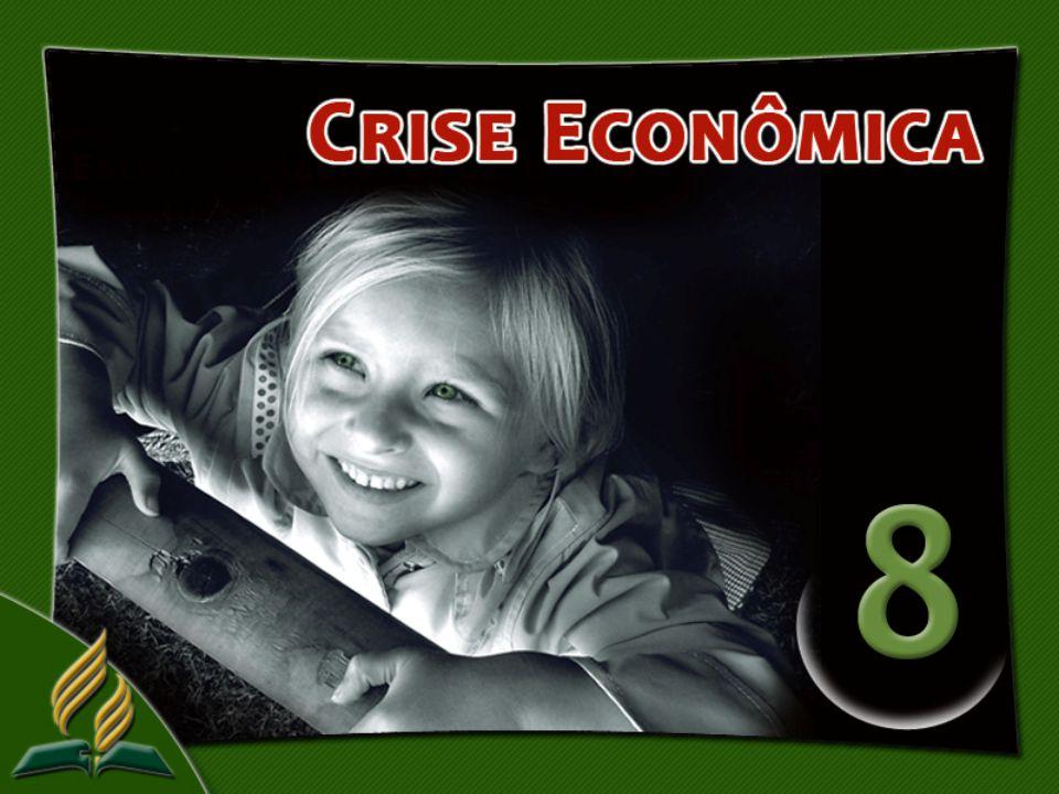 A recessão econômica se aproxima como um fantasma.